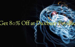 Ստացեք 80% Off Duxbury հոգեբանությունում
