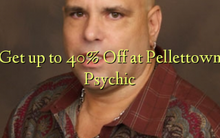 Get up to 40% Off at Pellettown Psychic