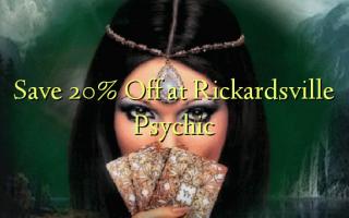 Gem 20% Off på Rickardsville Psychic