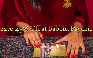 Gem 45% Off ved Babbitt Psychic