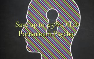 Gem op til 45% Off ved Portsmouth Psychic