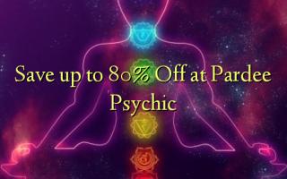 Faʻasao i le 80% Off i Pardee Psychic
