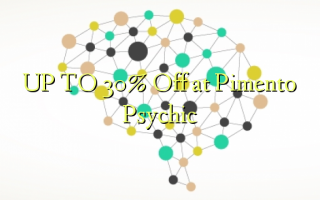 UP TO 30% Off at Pimento Psychic