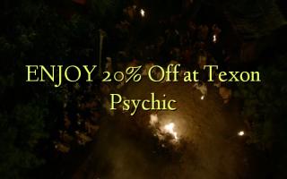 TUSI 20% Off i Texon Psychic