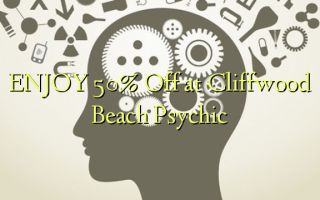 Nyd 50% Off på Cliffwood Beach Psychic