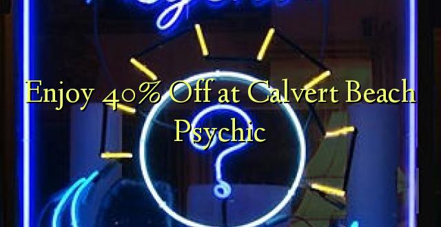 Furahia 40% Toka kwenye Calvert Beach Psychic