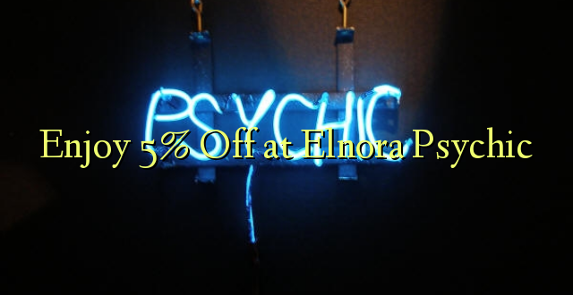 Enjoy 5% Off at Elnora Psychic