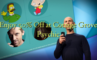 Enjoy 50% Off at Cottage Grove Psychic