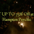 GET UP TO 75% Off at East Hampton Psychic
