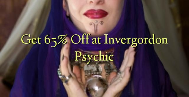 Get 65% Off at Invergordon Psychic