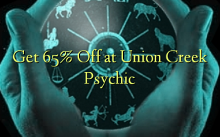 Получите 65% Off в Union Creek Psychic