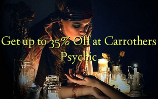 Получить до 35% Off в Carrothers Psychic