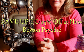 СОХРАНИТЬ К 15% Off в New Boston Psychic
