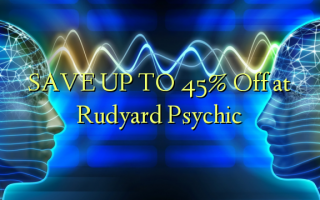 SAVE UP TO 45% Off at Rudyard Psychic