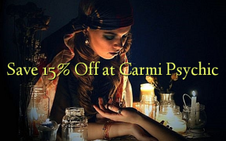 Сохранить 15% Off на Carmi Psychic