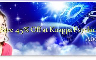Save 45% Off at Knappa Psychic