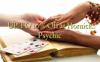 UP TO 10% Off at Hornick Psychic