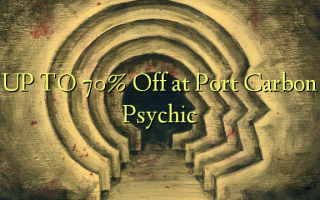 UP TO 70% Off at Port Carbon Psychic