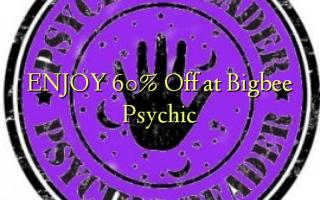 ENJOY 60% Off at Bigbee Psychic