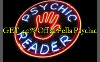 GET 40% Off at Pella Psychic