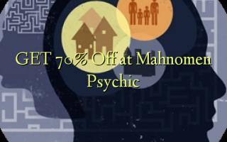 GET 70% Off at Mahnomen Psychic