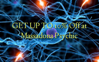 GET UP TO 10% Off at Massadona Psychic