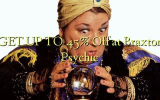 FÅ OP TIL 45% Off ved Braxton Psychic