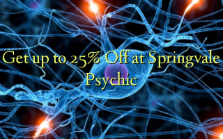 Get up to 25% Off at Springvale Psychic