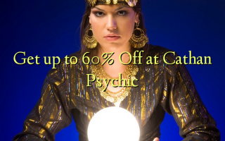 Get up to 60% Off at Cathan Psychic