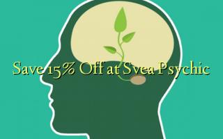 Hifadhi 15% Toka kwenye Svea Psychic