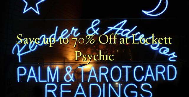 Gem op til 70% Off ved Lockett Psychic