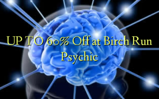 OP TIL 60% Off ved Birch Run Psychic