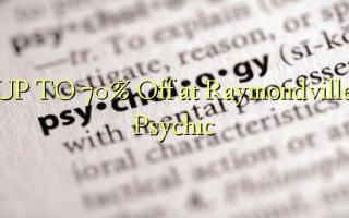OP TIL 70% Off ved Raymondville Psychic