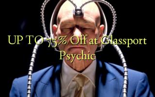 OP TIL 75% Off på Glassport Psychic