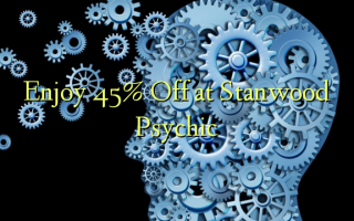 Enjoy 45% Off at Stanwood Psychic
