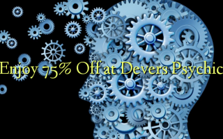 Enjoy 75% Off at Devers Psychic