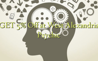 GET 5% Off at West Alexandria Psychic