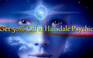 Get 50% Off at Hillsdale Psychic