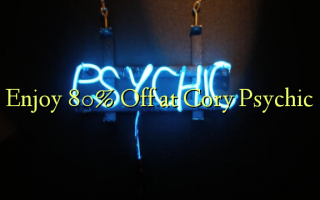 80% Off at Cory Psychic Enjoy