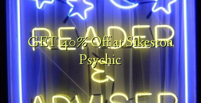 GET 40% Off på Sikeston Psychic