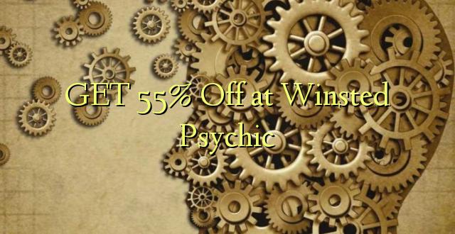 Получите скидку 55% на Winsted Psychic