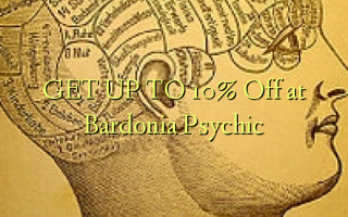 GET UP TO 10% à Bardonia Psychic