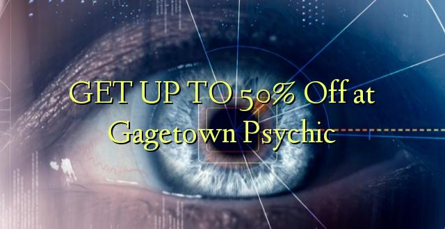 Получи скидку до 50 в Gagetown Psychic