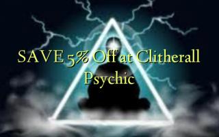 Gem 5% Off på Clitherall Psychic
