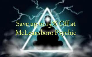 Spar op til 15% Off på McLeansboro Psychic