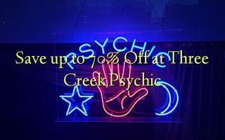 Spar op til 70% Off ved Three Creek Psychic