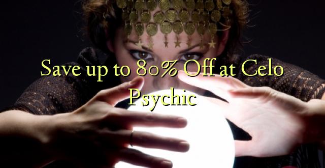 Сэкономьте до 80% на Celo Psychic