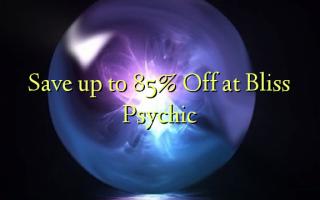 დაზოგეთ მდე 85% Off Bliss Psychic
