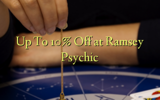 Скидка до 10 в Ramsey Psychic