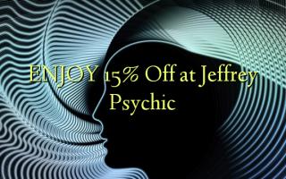 НАСЛАЖДАЙТЕ 15% Off в Jeffrey Psychic